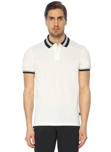 Boss Polo Yaka Tişört Beyaz